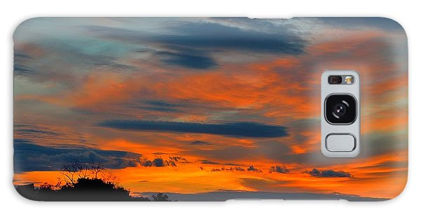 Central Jersey Sunset Galaxy Case by Steven Richman