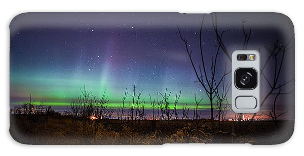 Central Minnesota Aurora Galaxy Case