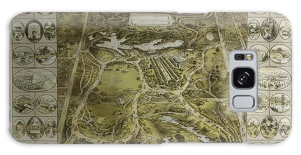 Central Park 1863 Galaxy Case by Duncan Pearson