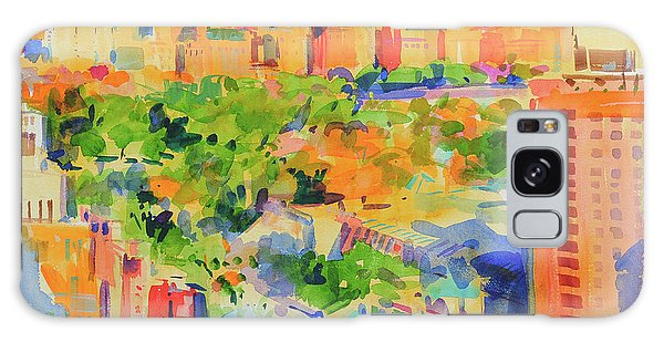 Central America Galaxy Case - Central Park From The Carlyle by Peter Graham
