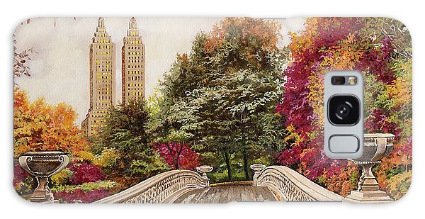 State Park Galaxy Case - Central Park by Guido Borelli