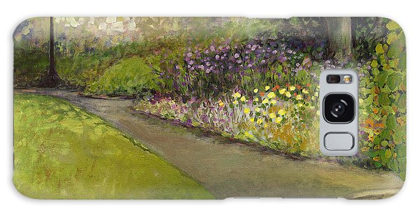Impressionist Galaxy Case - Central Park by Jennifer Lommers