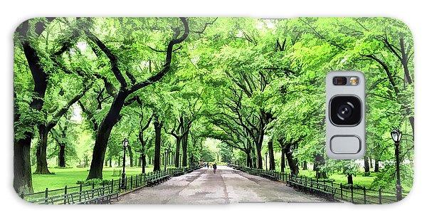 New York City Central Park Mall Galaxy Case