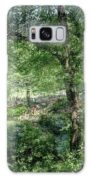 Galaxy Case featuring the photograph Central Park Montage by Dave Beckerman