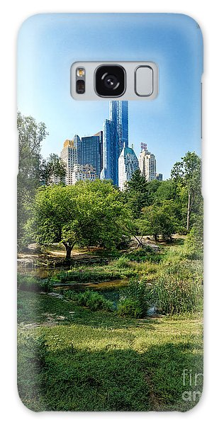 Central Park Ny Galaxy Case by Daniel Heine