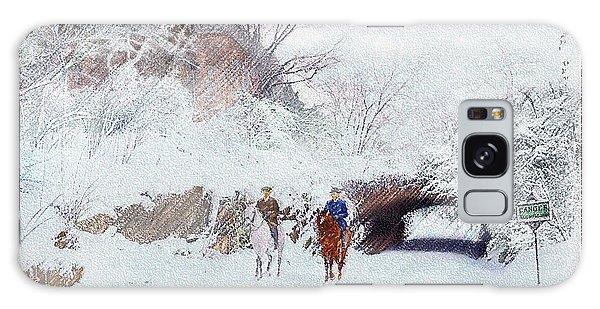 Central Park Snow Galaxy Case