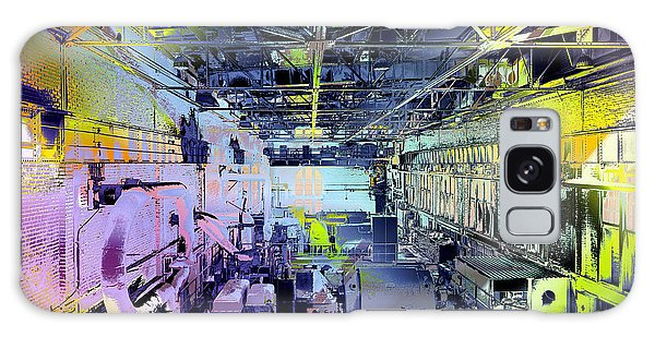 Galaxy Case featuring the photograph Grunge Central Power Station by Robert G Kernodle