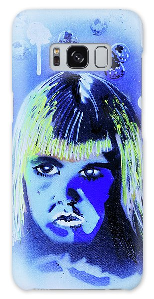 Galaxy Case featuring the painting Cereal Killers - Boo Berry  by eVol i