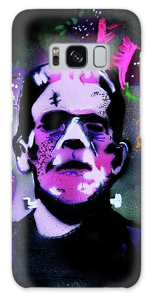 Galaxy Case featuring the painting Cereal Killers - Frankenberry by eVol i