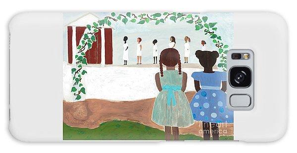 Temple Galaxy Case - Ceremony In Sisterhood by Kafia Haile