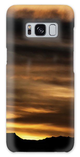 Galaxy Case featuring the photograph Cerro Pedernal by Britt Runyon