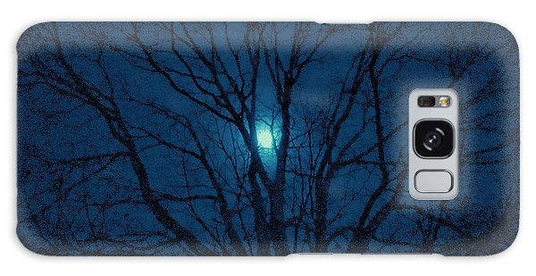 Cerulean Night Galaxy Case by Denise Beverly