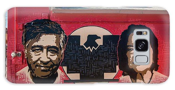 Cesar Chavez And Dolores Huerta Mural - Utah Galaxy Case