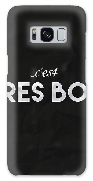 French Galaxy Case - C'est Tres Bon by Samuel Whitton