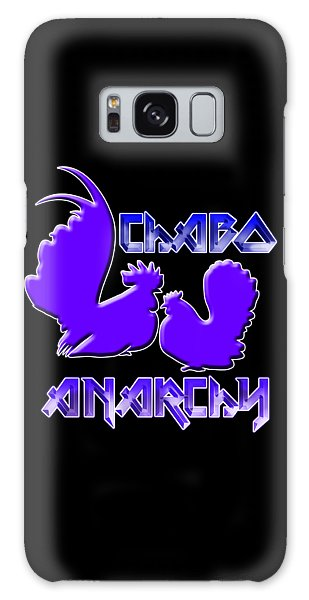 Galaxy Case - Chabo Anarchy Bluepurple by Sigrid Van Dort
