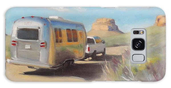 Chaco Canyon Glamping Galaxy Case
