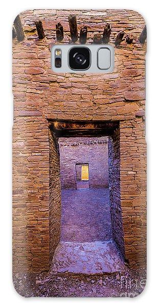 Chaco Canyon - Pueblo Bonito Doorways - New Mexico Galaxy Case