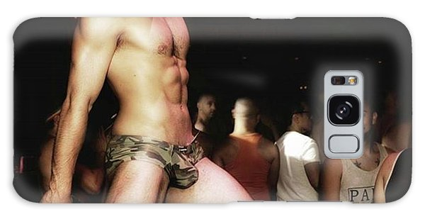 Galaxy Case featuring the photograph Chad Stewart. At A Gogo Boy Appearance by Mr Photojimsf