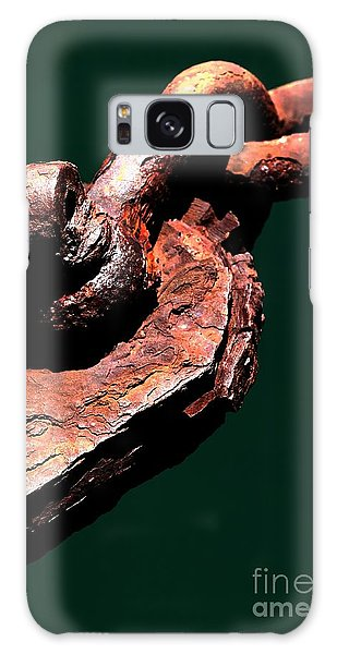 Galaxy Case featuring the photograph Chain Age II by Stephen Mitchell