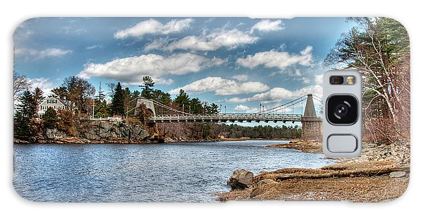 Chain Bridge On The Merrimack Galaxy Case