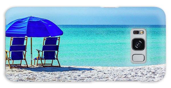 Beach Chair Pair Galaxy Case