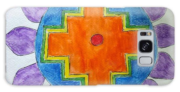 Chakana Inka Cross Galaxy Case