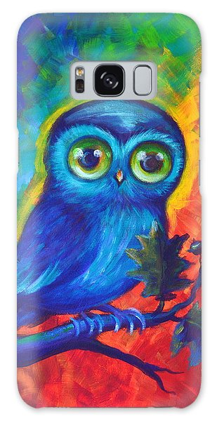 Chakra Abstract With Owl Galaxy Case