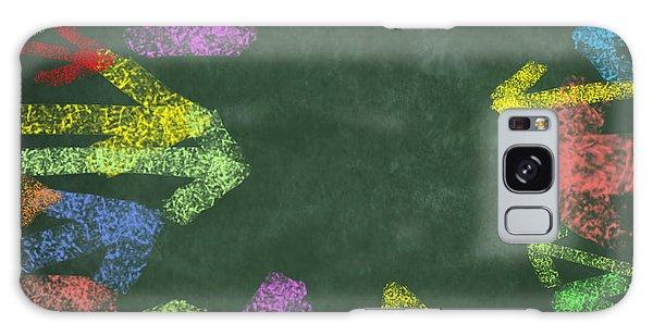 Recycle Galaxy Case - Chalk Drawing Colorful Arrows by Setsiri Silapasuwanchai