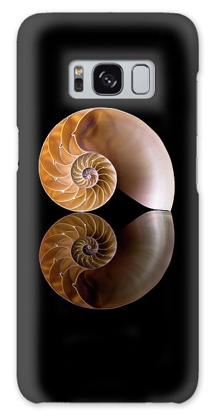 Chambered Nautilus Galaxy Case