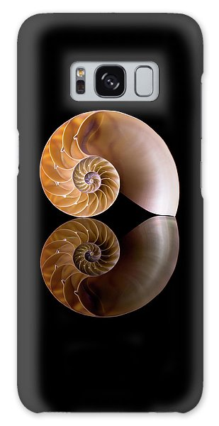 Chambered Nautilus Galaxy Case by Jim Hughes