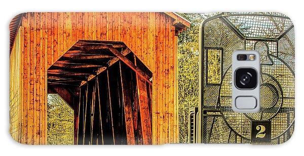 Chambers Railroad Bridge Galaxy Case