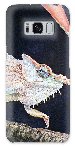 Chameleon Galaxy Case by Irina Sztukowski