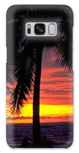 Champagne Sunset Galaxy Case