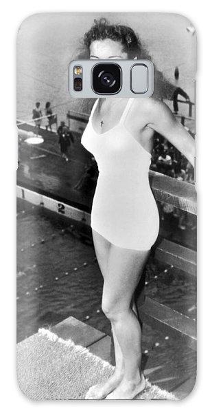 Amateur Galaxy Case - Champion Diver Vicki Draves by Underwood Archives