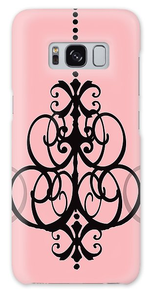 Chandelier Delight 1- Pink Background Galaxy Case