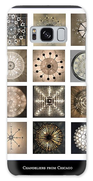 Chandeliers From Chicago Poster Galaxy Case