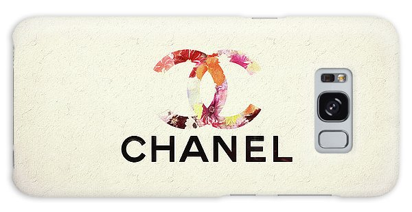 Chanel Floral Texture  Galaxy Case