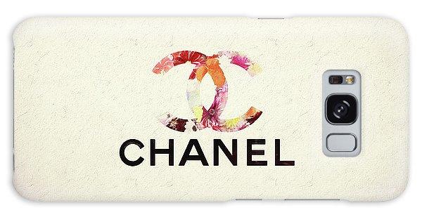 Chanel Floral Texture  Galaxy Case