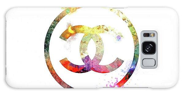 Chanel Logo Galaxy Case