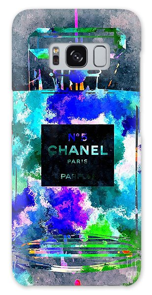 Chanel No 5 Dark Grunge Galaxy Case by Daniel Janda