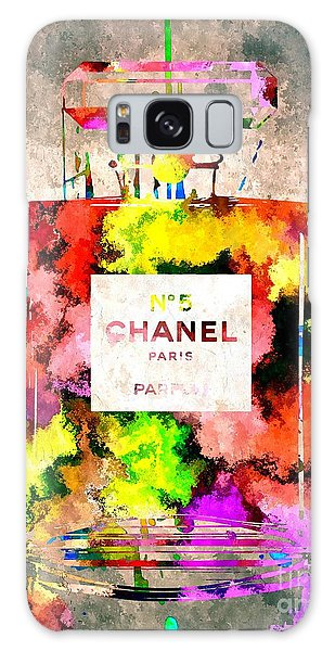 Chanel No 5 Grunge Galaxy Case by Daniel Janda