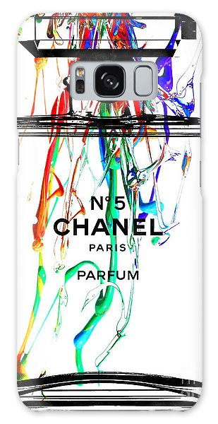 Chanel No. 5 Watercolor Galaxy Case by Daniel Janda