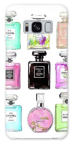 Watercolor Galaxy Case - Chanel Perfume Set 9er by Del Art