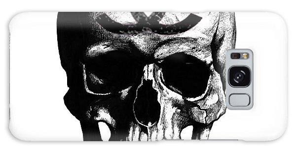 Skull Galaxy Case - Chanel Skull Black by Del Art