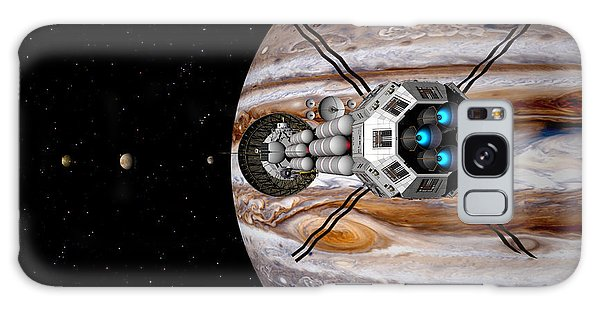 Changing Course Galaxy Case by David Robinson