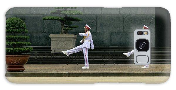 Changing Of Guard At Ho Chi Minh Mausoleum Galaxy Case