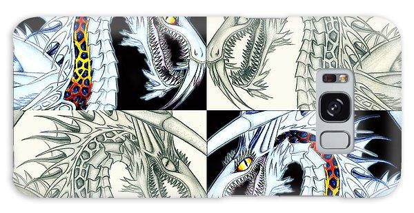 Chaos Dragon Fact Vs Fiction Galaxy Case by Shawn Dall
