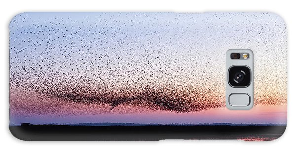 Chaos In Motion - Bird Of Many Birds Galaxy Case