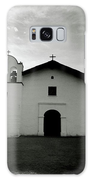 Greeting Galaxy Case - Chapel In The Shadows- Art By Linda Woods by Linda Woods
