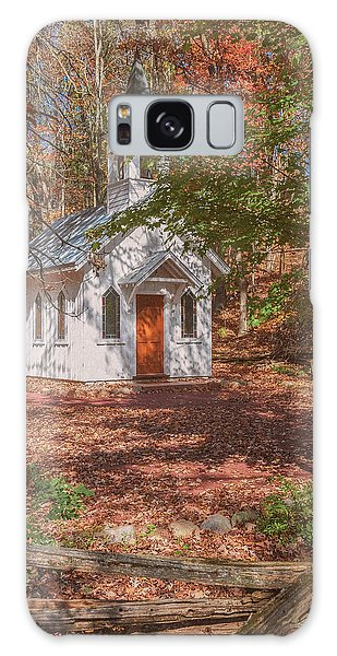 Chapel In Woods At Red Mill 3 Galaxy Case